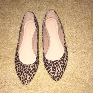 Old Navy cheetah flats